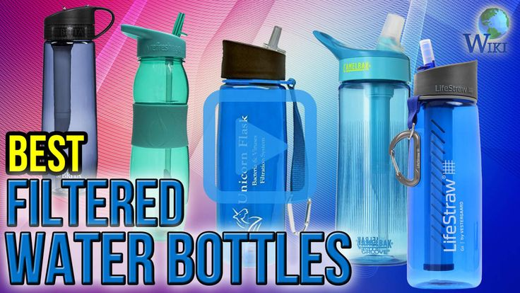 Top 10 Filtered Water Bottles of 2017 | Video Review