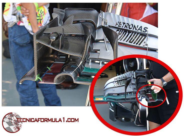 Análisis técnico del equipo Mercedes en los GPs de Singapur y Malasia  #F1 #MalaysiaGP