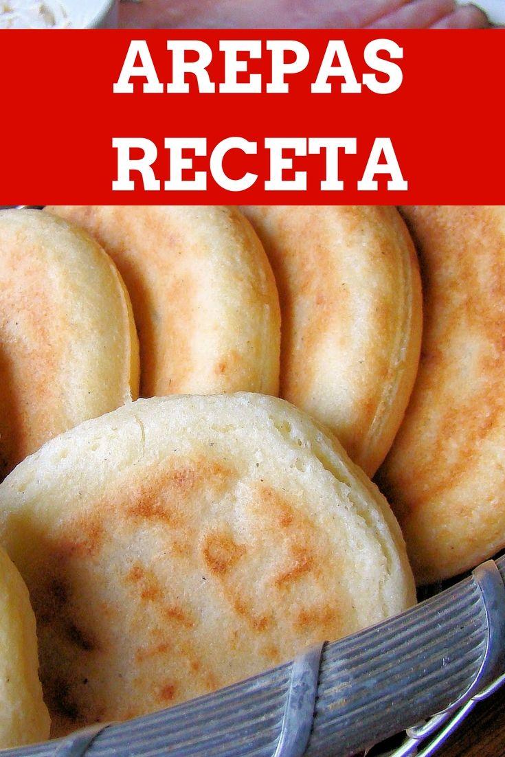 """Como hacer Arepas, el orgullo de la comida """"FastFood"""" Latino Americana. Esta receta fue la ganadora como el mejor desayuno del año 2014"""