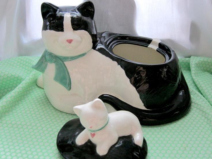 Cat Cookie Jar.