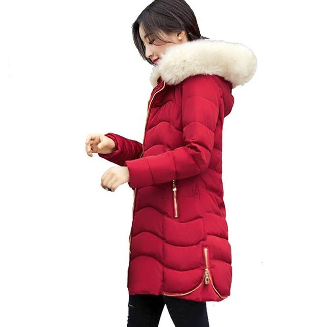 Winter Jacket Women 2017 Lady Parka Long Female Jacket Thick Coat And Jacket Women High Quality Warm Women's Winter Coats C3766