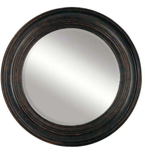 Rustique Circle 103cm Mirror