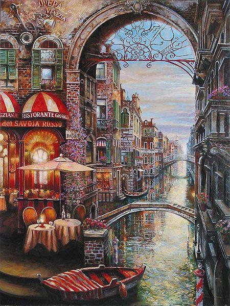 Via Dario - Vadik Suljakov - World-Wide-Art.com