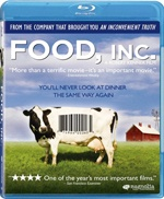 FOOD INC.  Everyone really needs to watch this.  It's Life-changing!