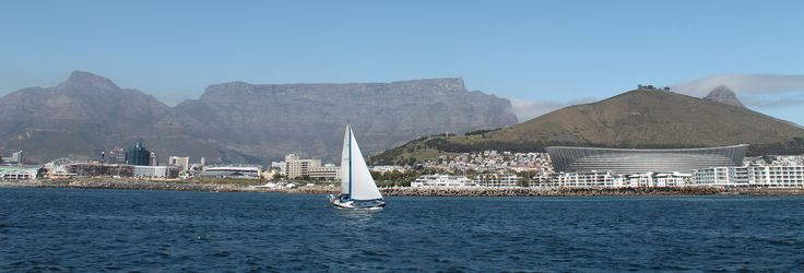 Learning to Sail in Cape Town, South Africa