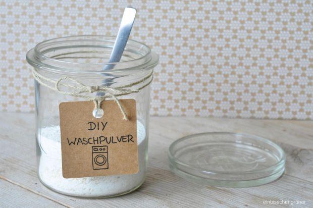 DIY Waschpulver selbst gemacht Waschmittel