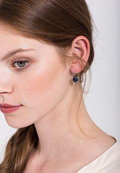 Dyrberg/Kern - LOUISE - Earrings - shiny silver-coloured