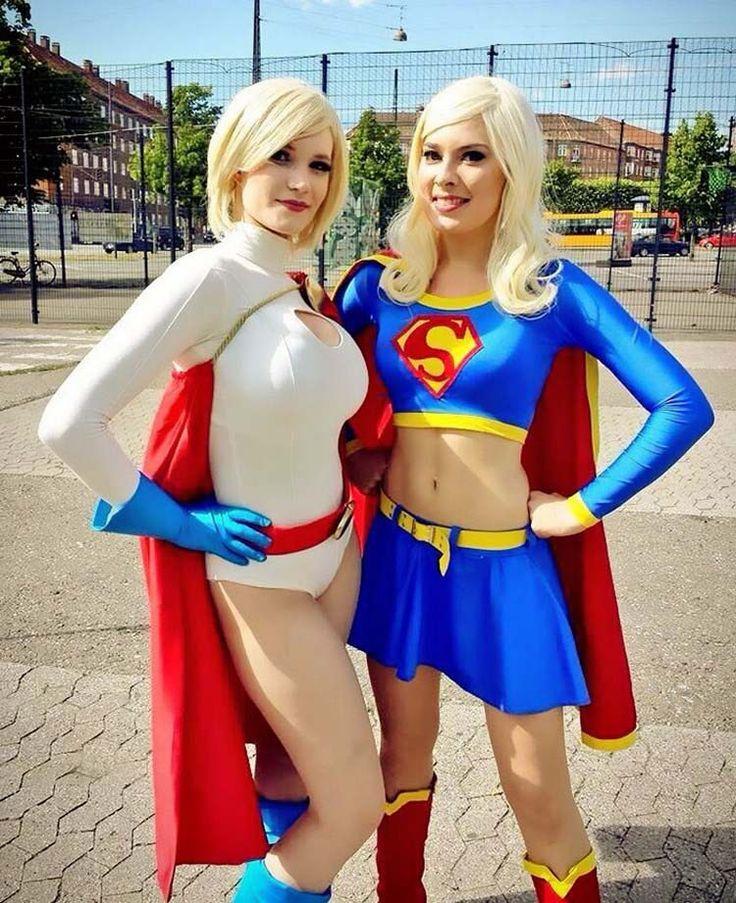 Вы слышали? Супергёрл и Пауэр Гёрл поженились! Эти девчонки из Дании, настоящие имена которых Карина (Carina) и Соерин (Soerine), две косплеерши, любящие передеваться в разнообразные наряды, но осо…