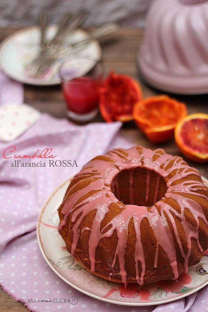 ciambella all'arancia rossa