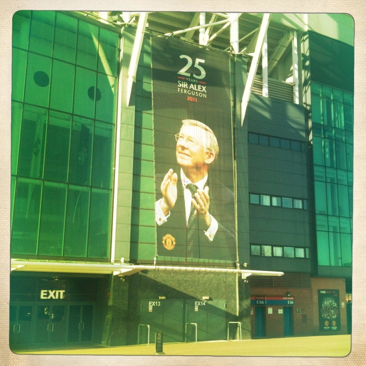Holiday. Old Trafford, Manchester