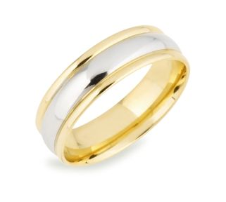 Great Have the best of both worlds the richness of classic yellow gold and the elegance of white with the Katrina Wedding Ring Design Made out of gold
