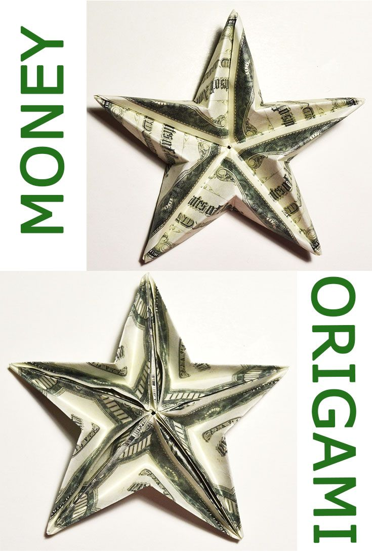60 mejores imgenes de money dollar origami en pinterest easy money big double sided star origami dollar tutorial diy folded no glue and tape today i show you how to make a big double sided money star out of 5 jeuxipadfo Image collections