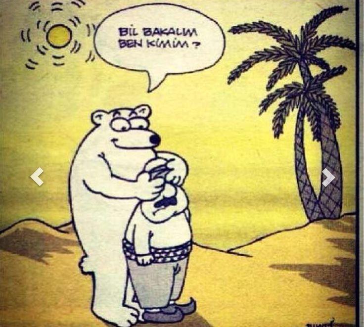 Karikatür komedi dram bahtsız bedevi