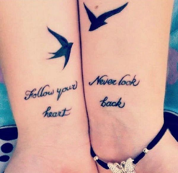 Unique Matching Bff Tattoos Ideas On Pinterest Matching - 20 beautiful matching tattoo designs that symbolise a couples loving bond