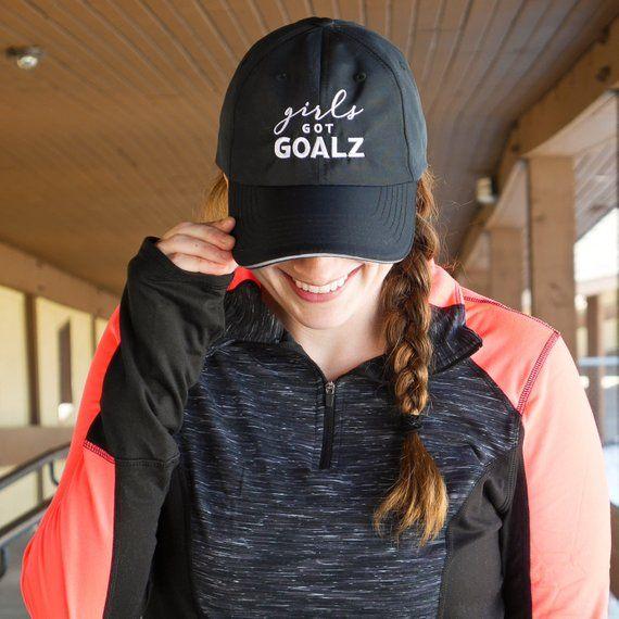 Black Workout Hat | Womens Running Hat, Girls Got Goalz,Gym, Fitness Apparel, Gym Accessory, Womens Cap, cute hat for runners, baseball cap – gym ideas