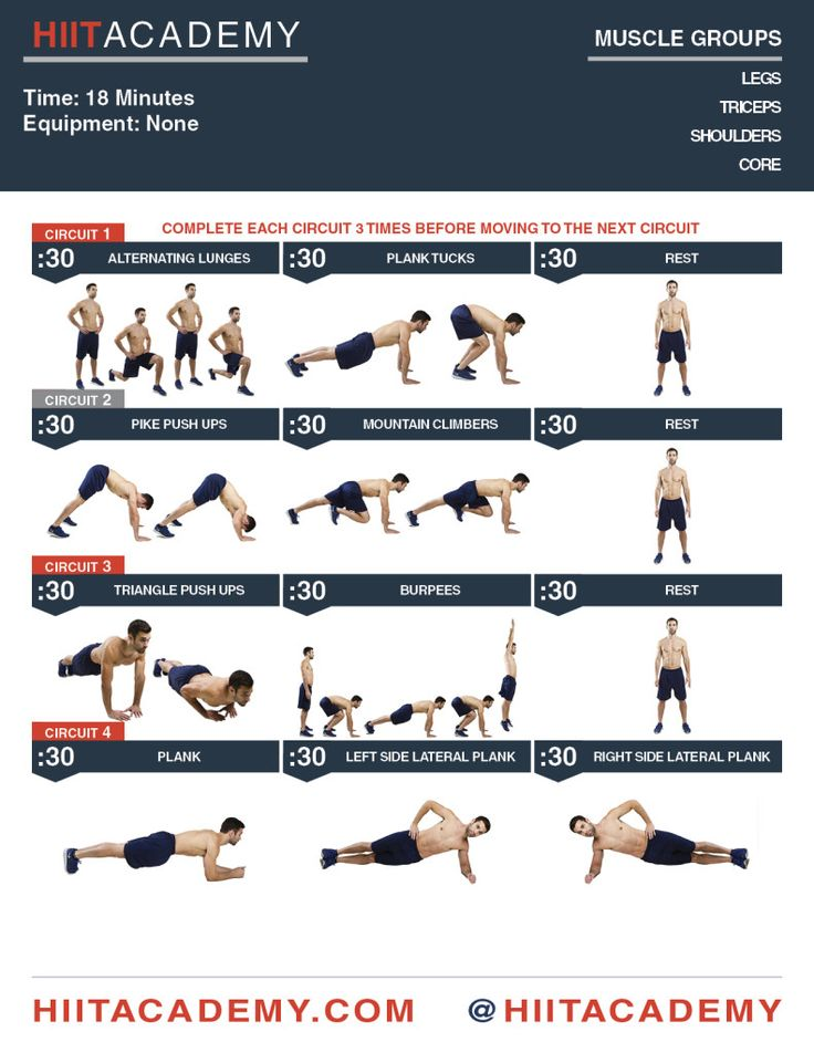 61 Best Hiit Images Exercise Routines Workout Rh Com Dumbbell Circuit For Men With Weights