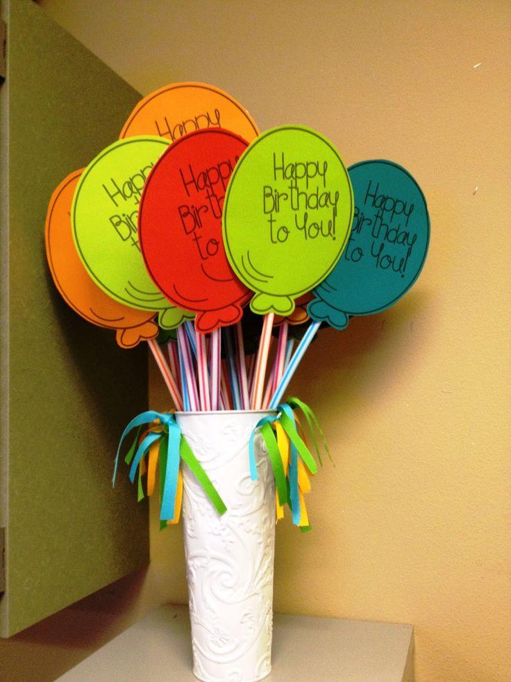 Tunstall's Teaching Tidbits - Easy Cheap and Cute Birthday Gift from Teacher