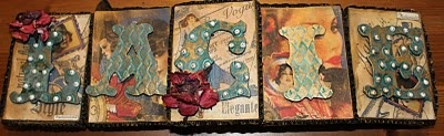 altered canvas: Artists Trays Frames Canvases, Altered Stuff, Scrapbook Stuff, Altered Canvas, Canvas Creative, Altered Art