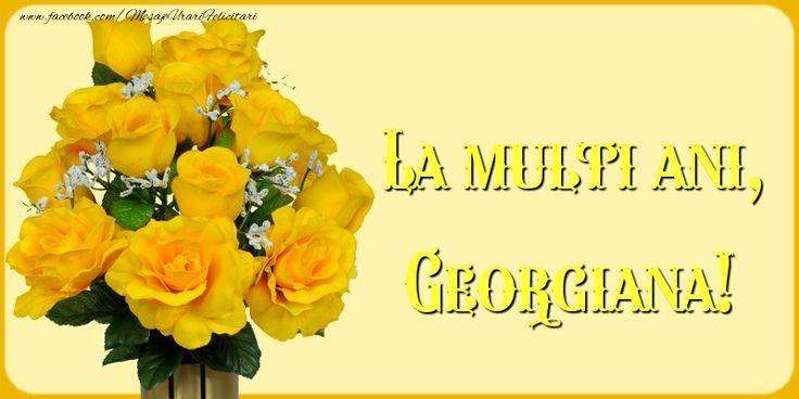 La multi ani, Georgiana!