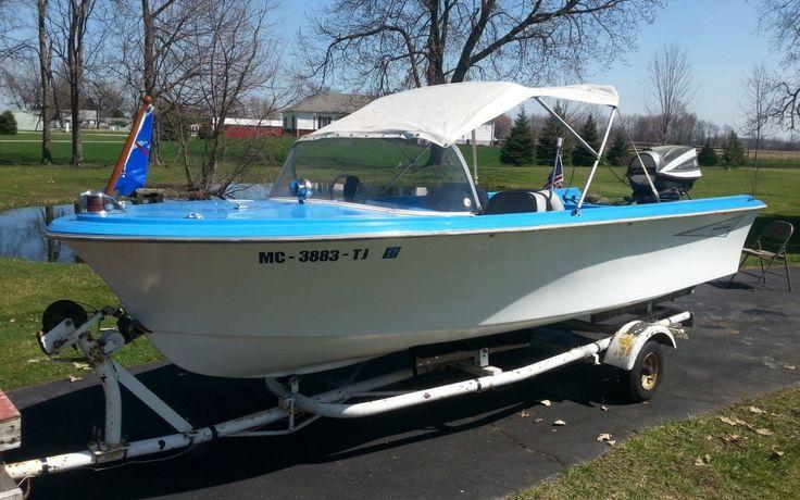 HarleyDavidson's Boat 1962 Tomahawk Boat, Runabout