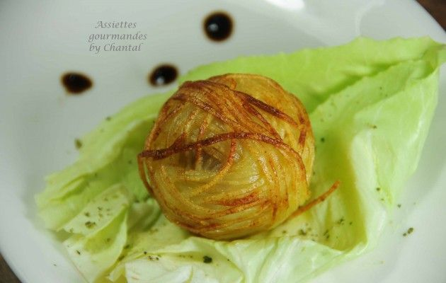 bonbon foie gras pomme de terre 1