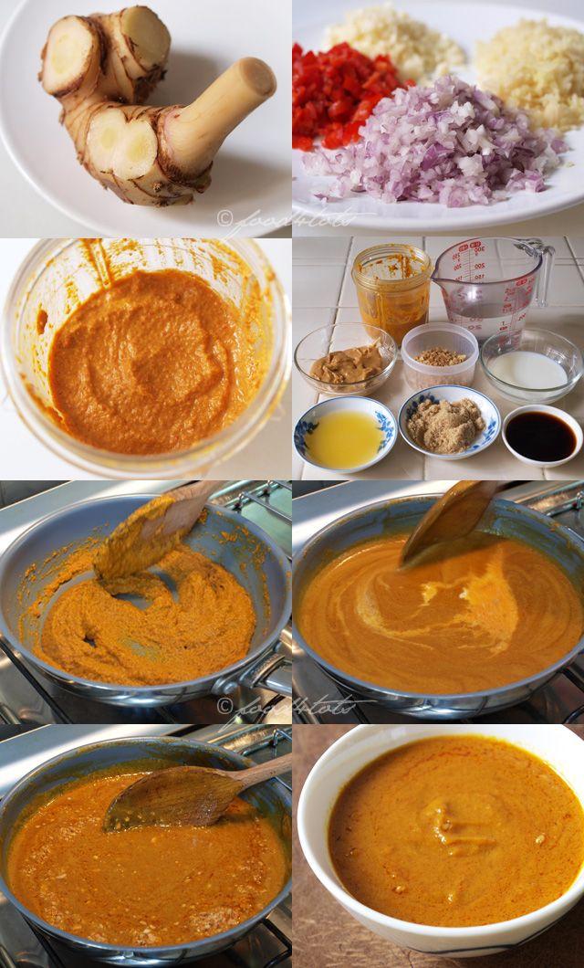 Peanut Satay Sauce - Step By Step   FOoOood   Pinterest