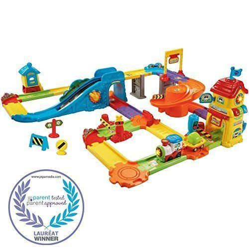 Toy Toys For Boys Girls Activity Train Station Playset Huge Birthday Gift Kids #VTech