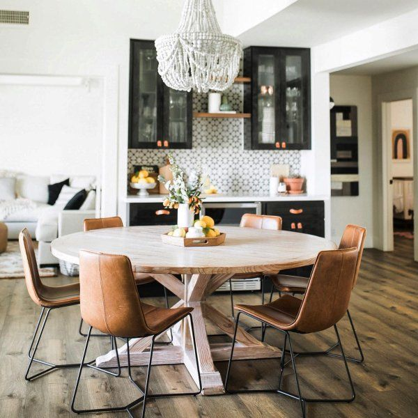 Slope Leather Dining Chair Elegant Dining Room Dining Room