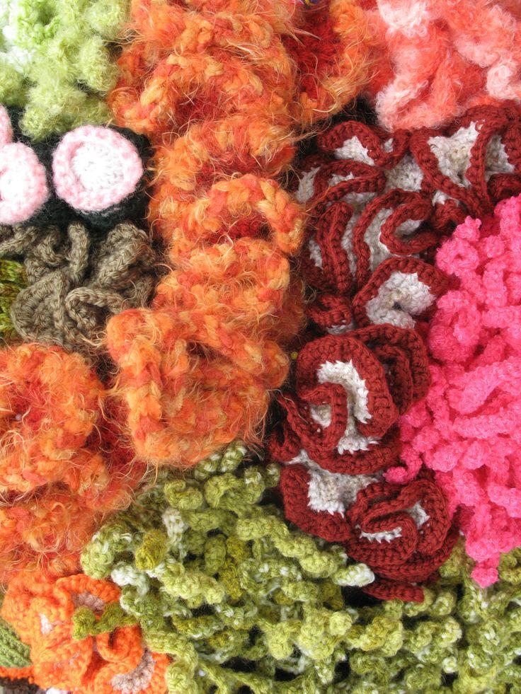 Crochet Coral Reef Hyperbolic Crochet Pinterest