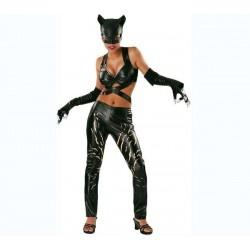 RUBIE'S Disfraz Deluxe Catwoman para adulto- Talla S - UKA Digital