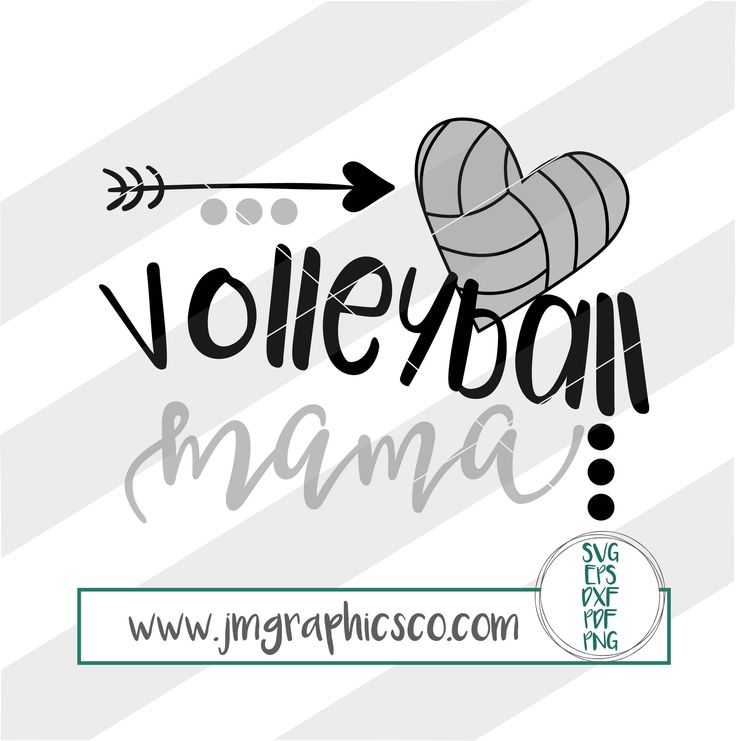 Volleyball Mama svg, eps, dxf, png, cricut, cameo, scan N cut, cut file, Volleyball mom svg, Volleyball player svg, Volleyball svg by JMGraphicsCO on Etsy