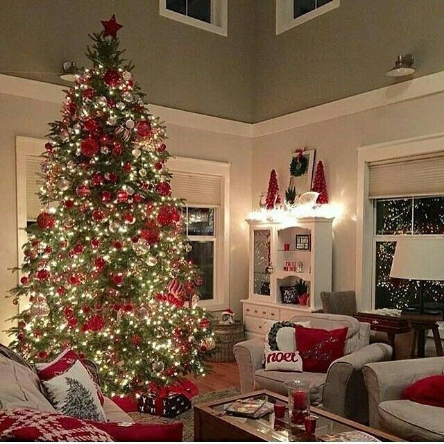 Diy Projects And Ideas Christmas Tree And Fireplace Holiday Living Room Decor White Christmas Trees