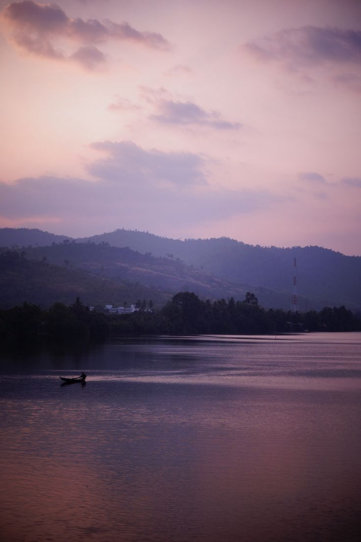 Kampot river. Cambodia.