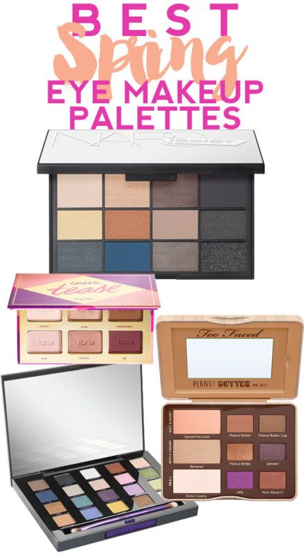 To get the best bang for your buck, don't buy a single shade of eyeshadow when you could instead purchase an eyeshadow palette with multiple colors. In fact, some palettes include 12 or 15 colors! Tarte's Tartelette Tease is great for everyday makeup. The colors are flattering and work on almost everyone. NARS' NARSissist eyeshadow palette includes both matte and shimmer shades in a mix of light and dark colors to take you into evening. Visit eBay for more spring eye makeup palettes.