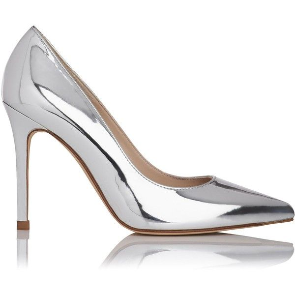 Fern Metallic Silver Court Shoes | Shoes | L.K.Bennett ❤ liked on Polyvore featuring shoes, pumps, heels, high heels, silver metallic shoes, high heeled footwear, high heel pumps, l.k. bennett pumps and heel pump