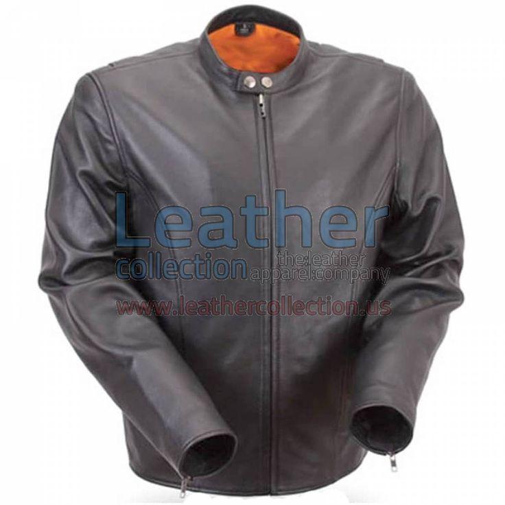 Lightweight Summer Leather Motorcycle Jacket - https://www.leathercollection.us/en-we/lightweight-summer-leather-motorcycle-jacket.html summer leatherjacket, summer motorcycle jacket #SummerLeatherJacket, #SummerMotorcycleJacket