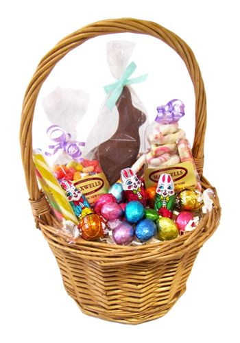 42 best stuff in our shop images on pinterest floral arrangements we will design a unique easter gift basket for you filled with chocolate bunnies negle Image collections