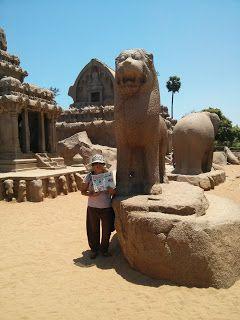 Stone rathas at mahabalipuram a world heritage site