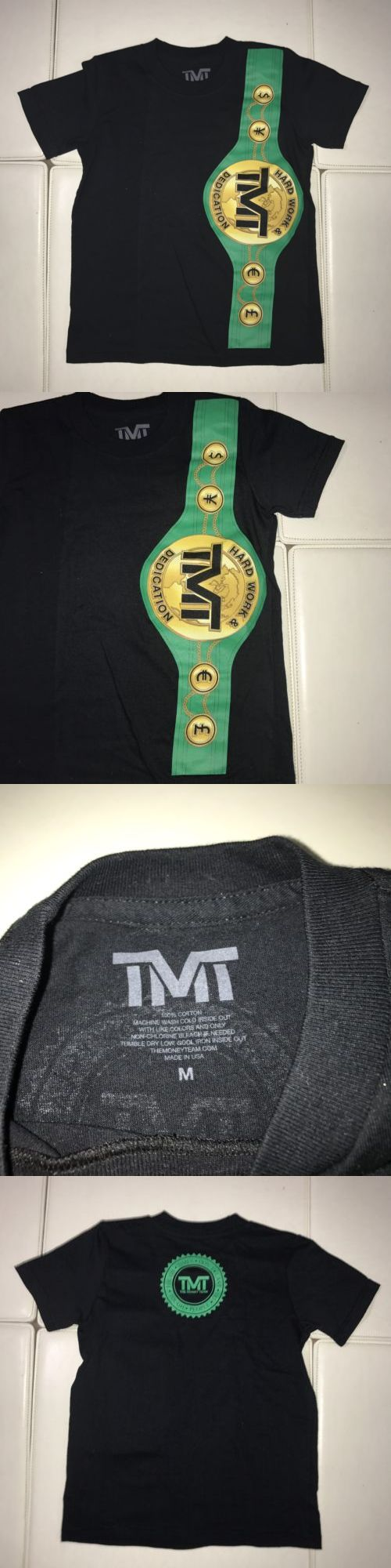Tops and T-Shirts 155199: Toddler Kids Official Floyd Mayweather Shirt Tmt Mexico M Boxing Tbe Money Team -> BUY IT NOW ONLY: $49.99 on eBay!