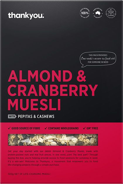 Almond & Cranberry Muesli