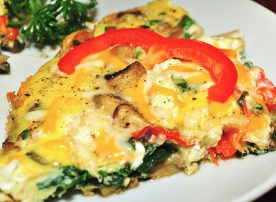Zucchini and Sweet Potato Frittata | Paleo | Pinterest