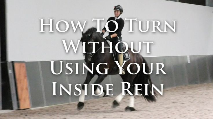 How To Turn Without Using Your Inside Rein - Dressage Mastery TV Ep 159
