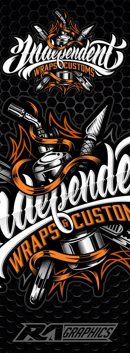 Typography design by RA Graphics.