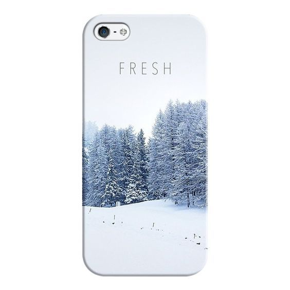 iPhone 6 Plus/6/5/5s/5c Case - Winter Fresh ($35) ❤ liked on Polyvore featuring accessories, tech accessories, covers, winter, iphone case, apple iphone cases and iphone cover case: