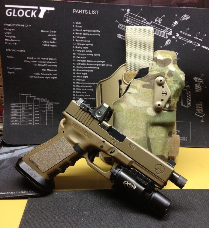331 Best Glock Images On Pinterest Hand Guns Handgun And Revolvers