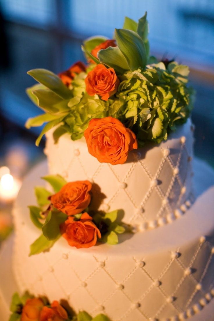 lime green and orange wedding cakes 29 best orange amp lime images on casamento 16898