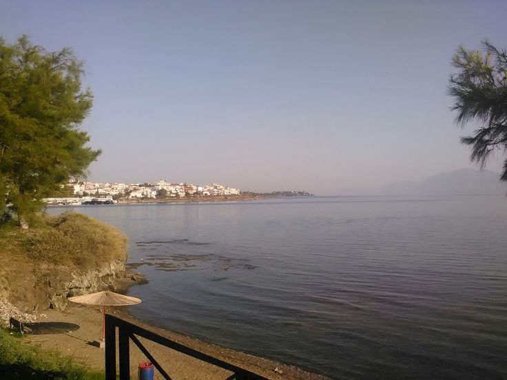 Chalkida by the sea