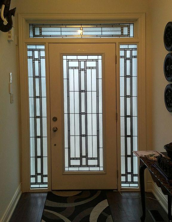 Our Popular Genesis Stained Glass Door Insert For Single Or Double Doors Stained Glass Door Glass Door Double Doors