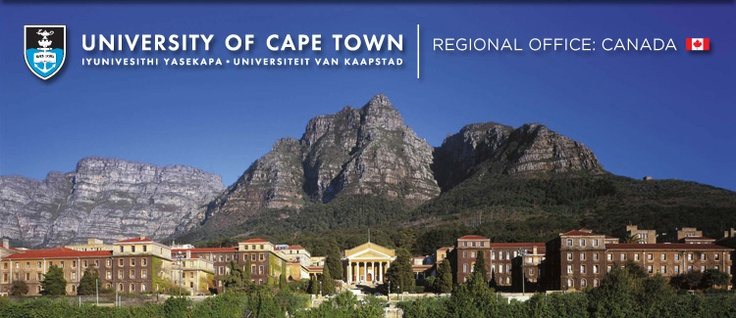 University of Cape Town - no campus on earth is more lovely.