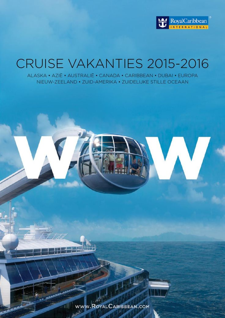 Royal Caribbean International - Brochure 2015/2016  CRUISE VAKANTIES 2015-2016
